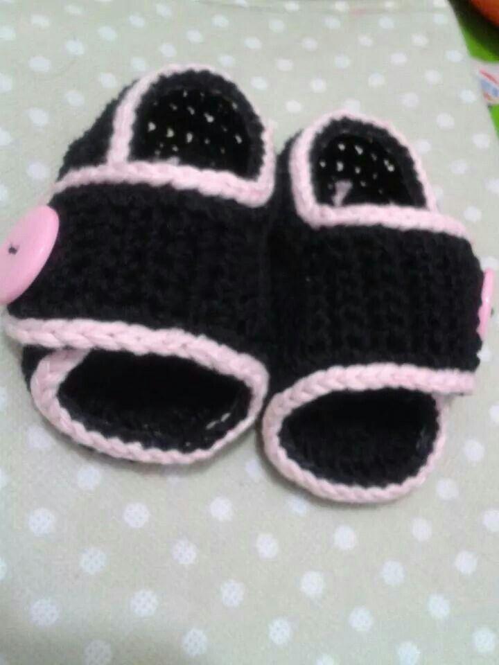 166 besten babyschuhe Bilder auf Pinterest | Stricken häkeln, Baby ...
