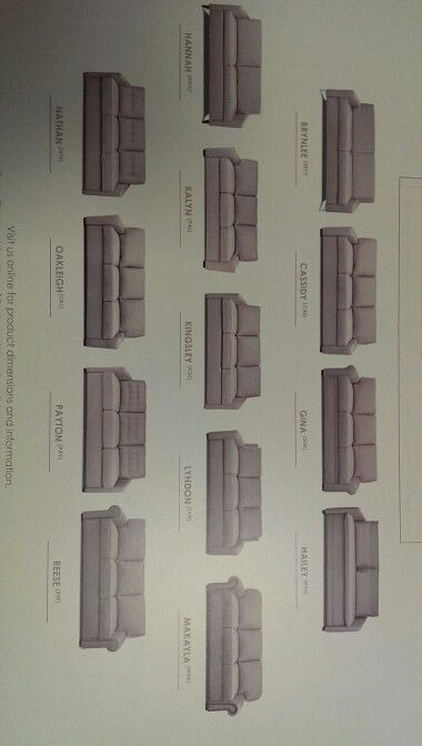 American Leather sofa bed options