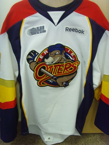 Game Worn Autographed Connor McDavid Erie Otters Jersey On Ebay