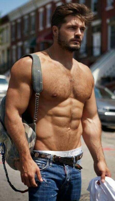 Hot brunette guy