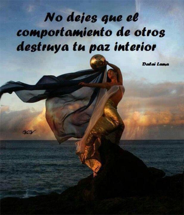 No dejes que el comportamiento de otros destruya tu paz for Meditacion paz interior