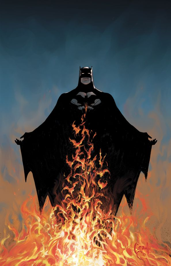 The cover for BATMAN #11 by Greg Capullo