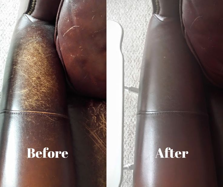 You can make an old, dried out, scratched up, leather couch look new again by this simple, chemical free, green living, life hack.