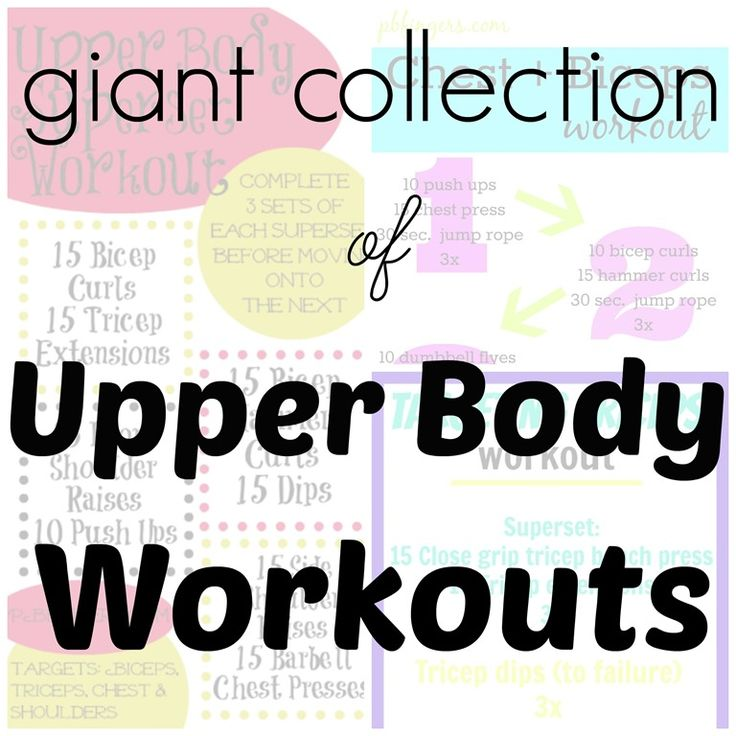 Giant Collection of Upper Body Workouts: Fingers Living, Legs Workout, Butter Fingers, Giant Collection, Upper Body Workouts, Healthy Food, Peanut Butter, Favorite Upper, Fit Marching