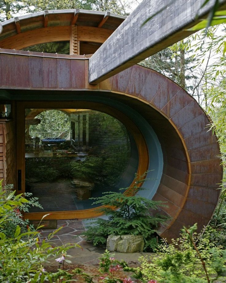 Located in the wooden hills that surround