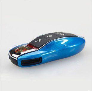 Car key case powłoki ochronne ABS plastikowe stylizacji torba box dla porsche cayenne boxster cayman macan 911