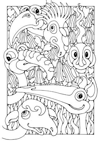 Flamingo : Coloring Book Vol.4: A Coloring Book  Containing 30 Flamingo Designs in a Variety of Styles to Help you Relax (Volume 4)