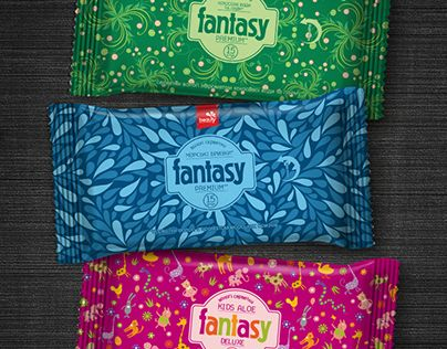 """Check out new work on my @Behance portfolio: """"Wet wipes """"Fantasy"""" Deluxe"""" http://be.net/gallery/31715069/Wet-wipes-Fantasy-Deluxe"""