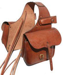 Small Western Saddle Bag