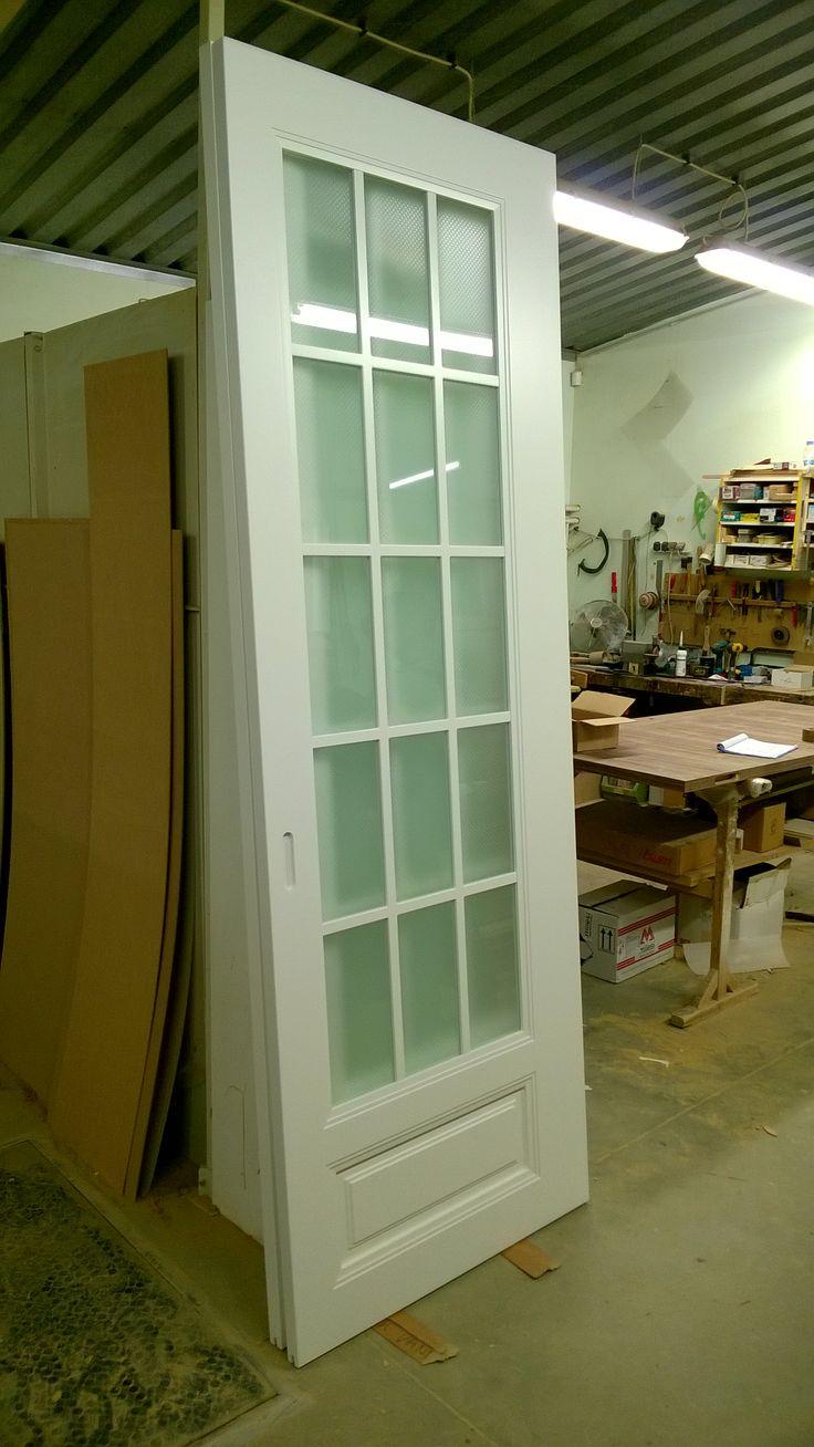 The BIG one. Tall 2,60 m high sliding door panel