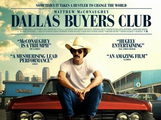 Dallas Buyers Club 7/50 movies watched (Feb 5th)