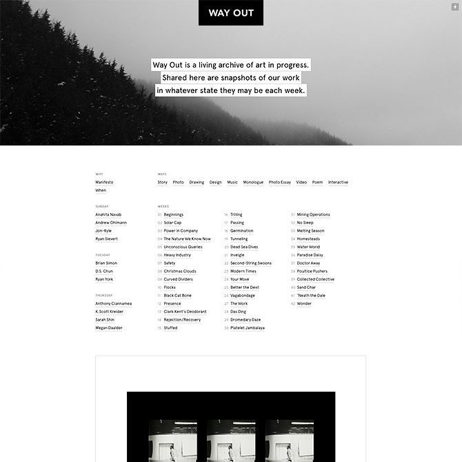 cargo collective templates - 12 best editorial design