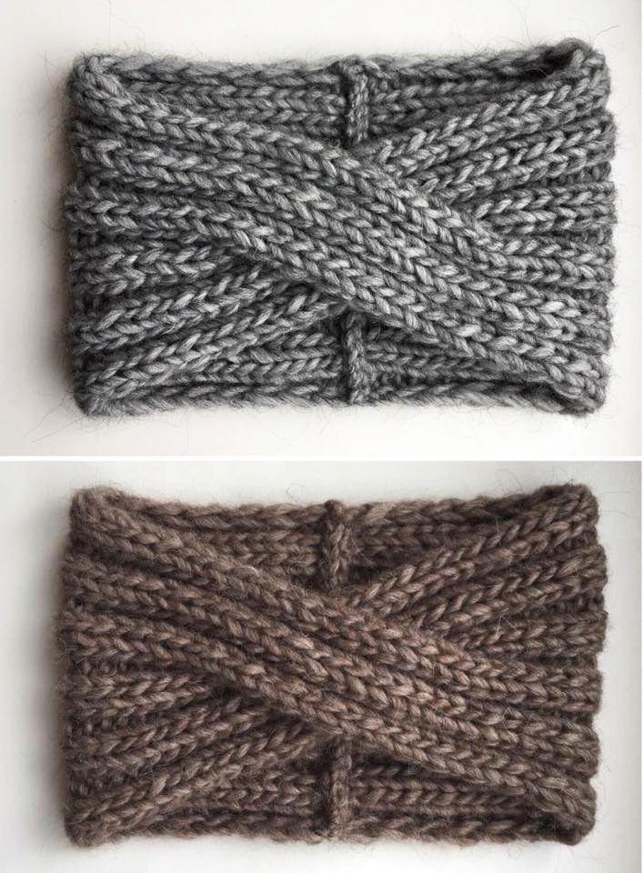 Knit alpaca headband, Knit hat turban, Knit black headband, Black knit turban, Knit alpaca turban, Knit headcovers