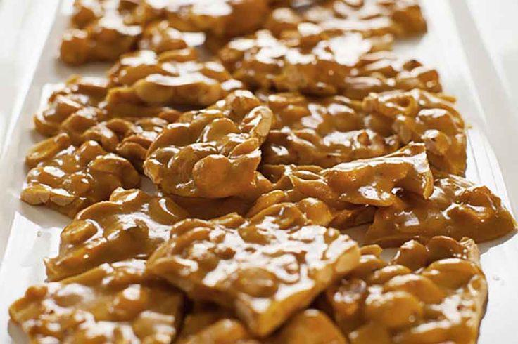 Microwave Nut Brittle: King Arthur Flour