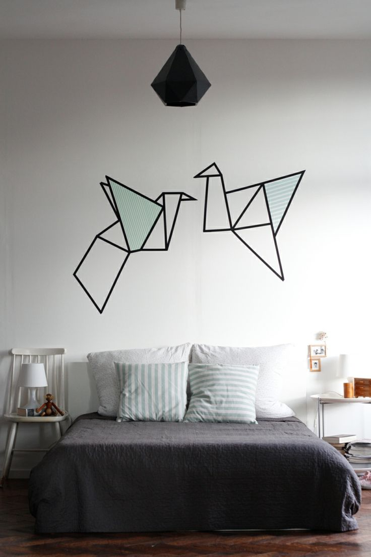 les 25 meilleures id es concernant diy d co murale sur pinterest simple d cor mural miroir. Black Bedroom Furniture Sets. Home Design Ideas