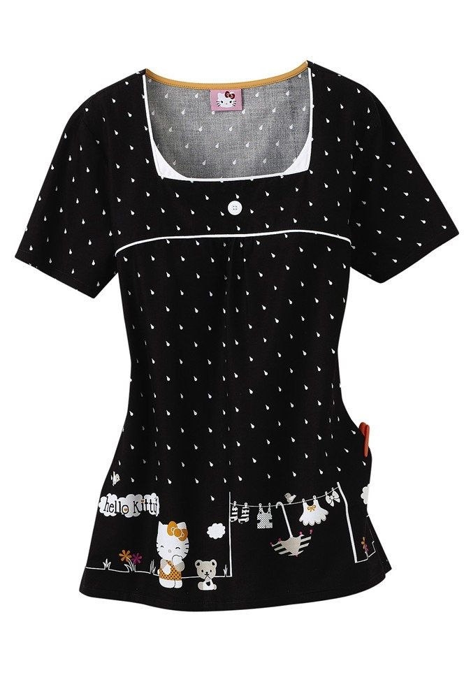 Cherokee Hello Kitty Life print scrub top. ummm pretty sure i need this!!!
