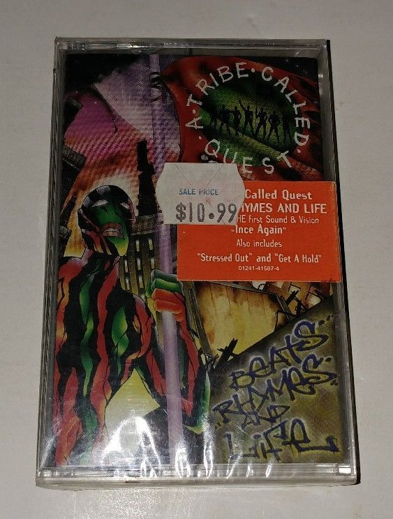 Beats, Rhymes and Life by A Tribe Called Quest (Cassette, Jul-1996, Jive (USA)) #EastCoast