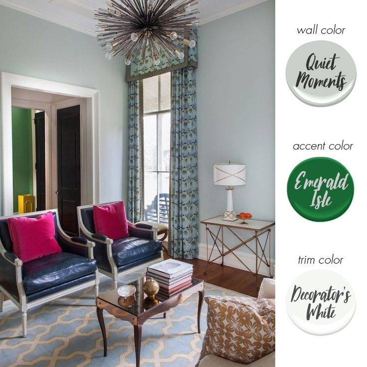 living room decorating ideas red and black%0A Paint Color Ideas For Eclectic Style   The Havenly Blog