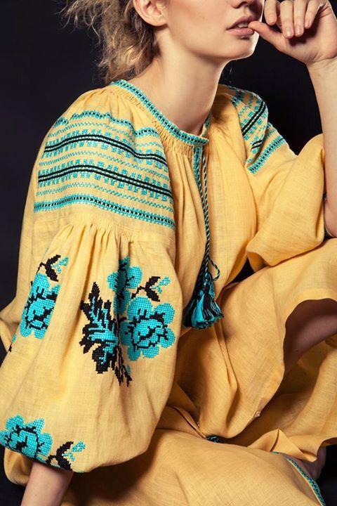 #Ukrainian #Style #Spirit of #Ukraine Vía Fayna Vyshyvanka