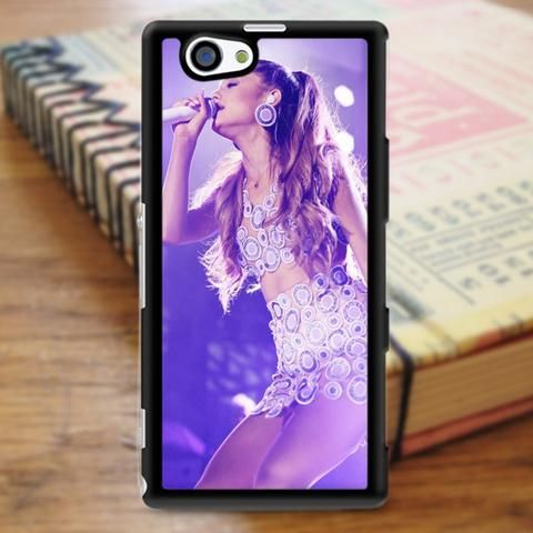 Ariana Grande Singer Beautiful Show Sony Experia Z3 Case