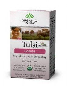 Herbata Tulsi Jasminowa, pyszna i zdrowa!