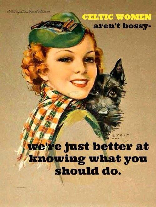 Irish women - yes!
