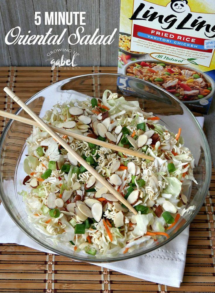 Lav Orientalsk salat opskrift på kun 5 minutter Tak Til-7175