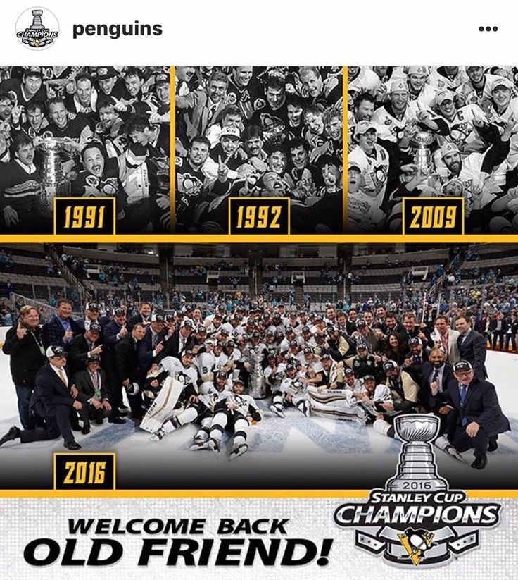 Pittsburgh Penguins: 2016 Stanley Cup Champions/4x Stanley Cup Champions
