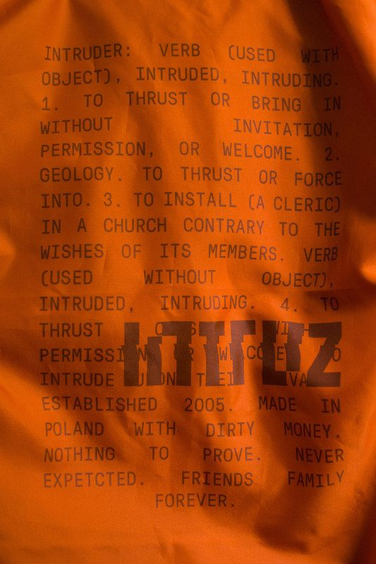 Intruz Clothing - bomber jacket