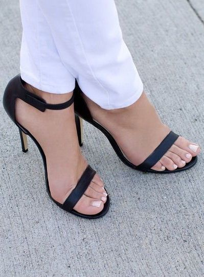 Classy & Timeless Simple Strap Heels ♥ Love & Want