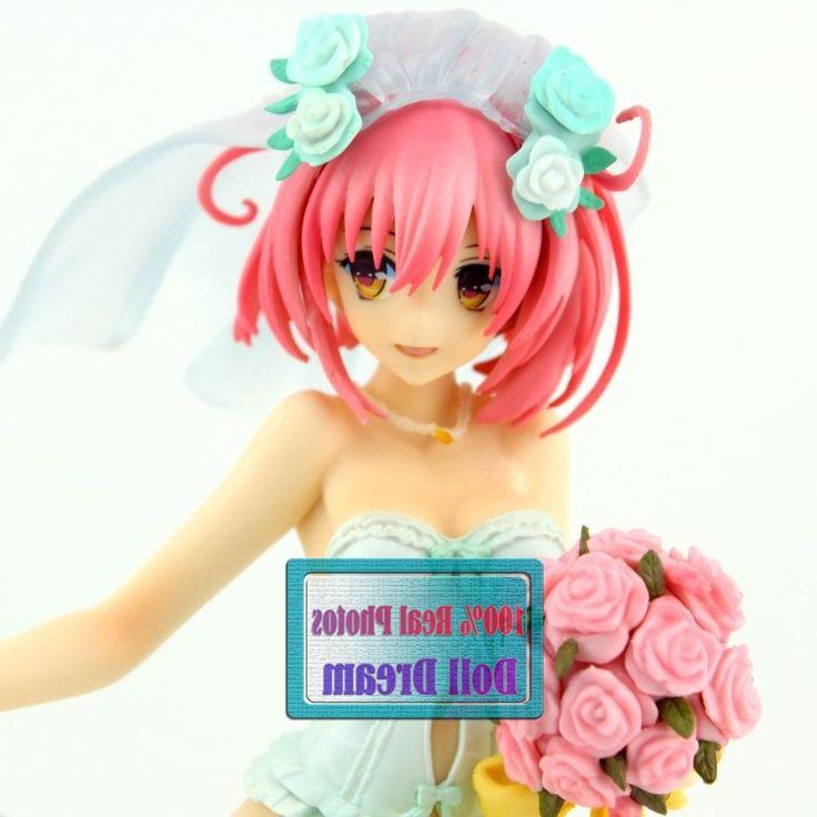 28.82$  Buy now - https://alitems.com/g/1e8d114494b01f4c715516525dc3e8/?i=5&ulp=https%3A%2F%2Fwww.aliexpress.com%2Fitem%2F25CM-Japanese-Sexy-Figure-Anime-MaxFactory-MF-TO-LOVE-RU-Momo-Belia-Deviluke-in-Wedding-Dress%2F32676804265.html - 25CM Japanese Sexy Figure Anime MaxFactory MF TO LOVE RU Momo Belia Deviluke in Wedding Dress Doll PVC Action Figure Toys
