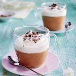 IJscappuccino met chocolade