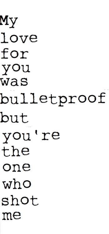 Bulletproof Love- Pierce The Veil