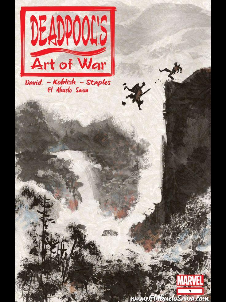 Deadpool Art of war 1