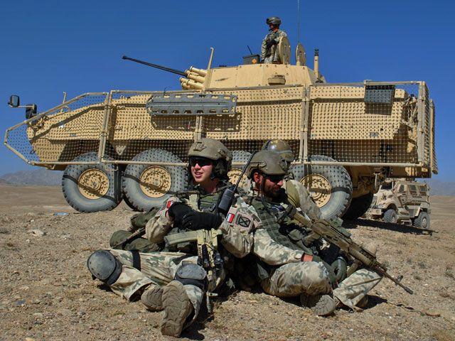 Polish Rosomak APC, Afghanistan