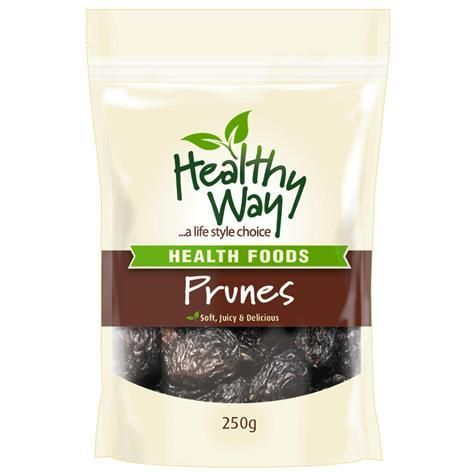 Healthy Way Prunes 250g - Chemist Warehouse