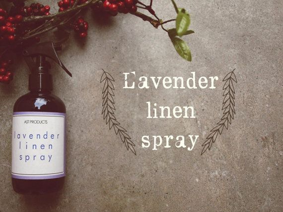 LAVENDER LINEN SPRAY by ASTPRODUCTS on Etsy