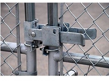Chain Link Fence Double Gate