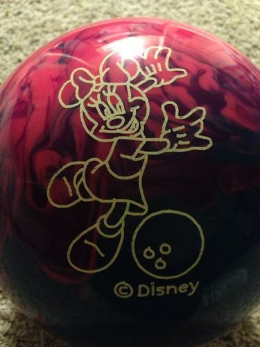 Cosmic Minnie Mouse Bowling Ball Brunswick 12lbs Ebay