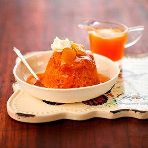 Creamy Caramel & Ginger Self Saucing Pudding