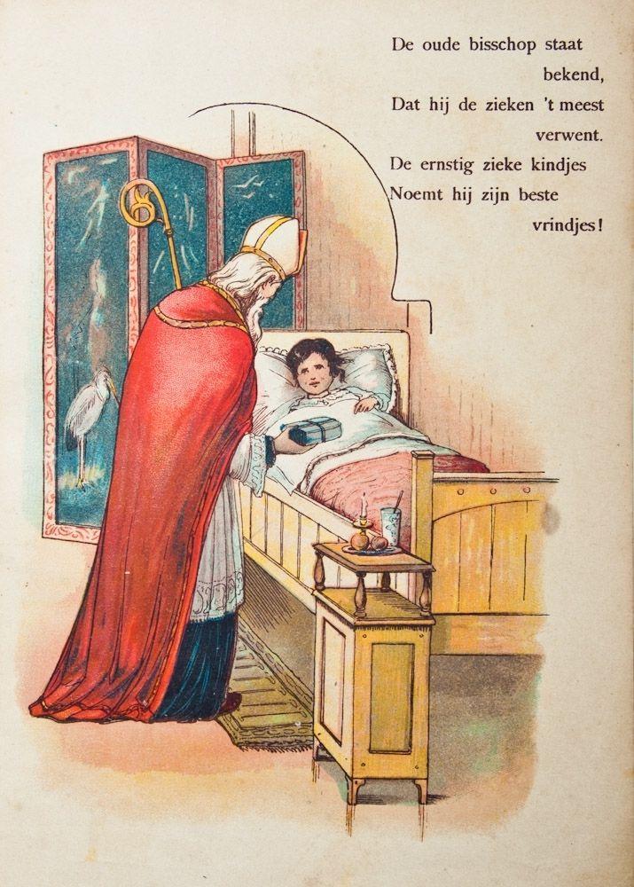 Sinterklaas en een ziek kind