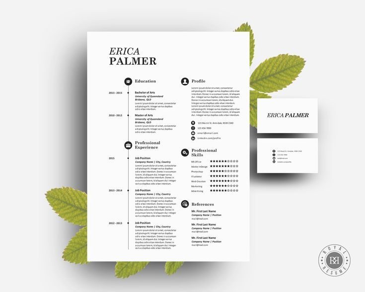 The 25+ best Business card template word ideas on Pinterest - business card resume