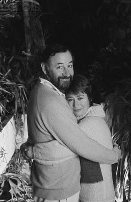 Annie Girardot e Philippe Noiret. 1979.