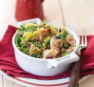 Tuna quinoa salad recipe   Australian Healthy Food Guide