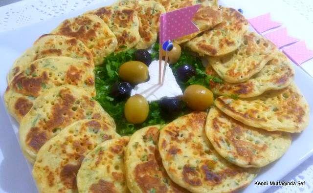 Peynirli Pankek Tarifi   Kendi Mutfağında Şef