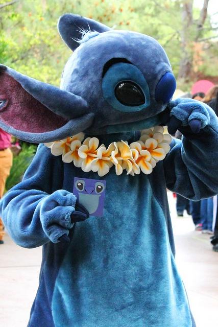 Stitch, Long Lost Friends Week (April 14). Photo by #JadeRangel