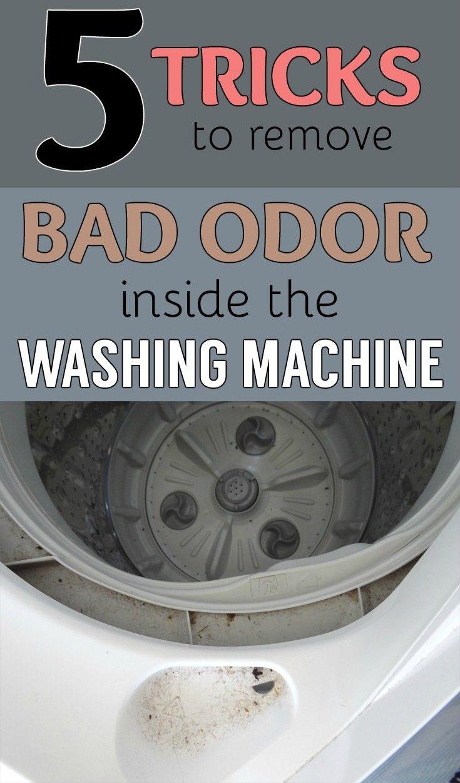 washing machine odor removal vinegar