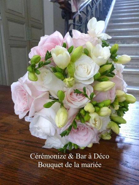 Bouquet mariée, bouquet de la mariée et composition florale
