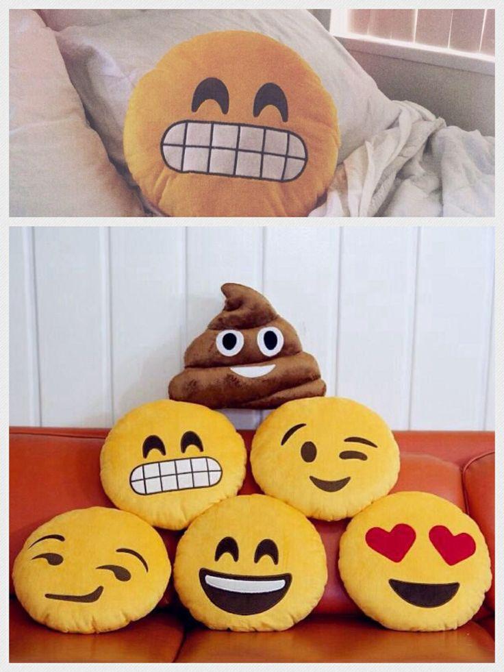 Emoji pillows !!!!!!