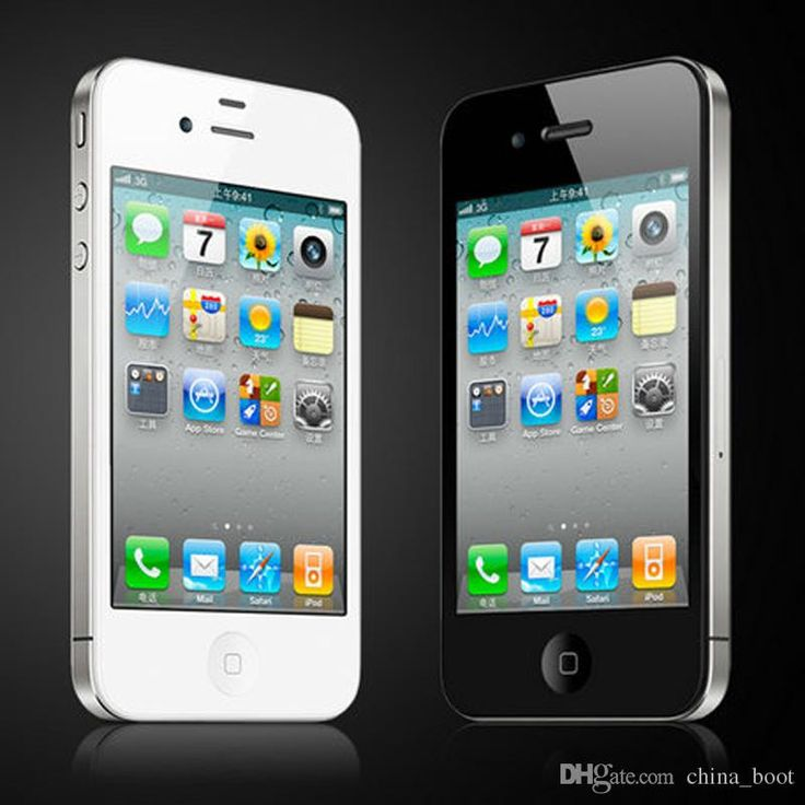Factory iPhone 4s Unlocked Original Apple iPhone 4S mobile phone 3G wifi GPS 16GB/32GB ROM iOS 8 Dual Core Refurbished cell phones 002834 from memorysky $123.57 | DHgate Mobile